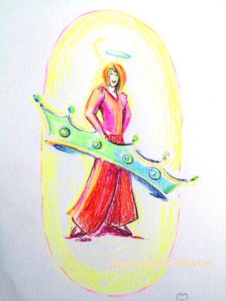 dessin intuitif, dessin spiritualité, severine saint-maurice, lescerclesdelumiere.com
