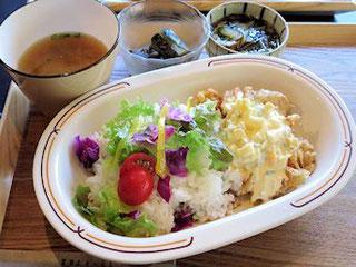 チキン南蛮丼セット(2016/7/10)