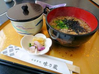 隠岐そば定食(2014/12/14)