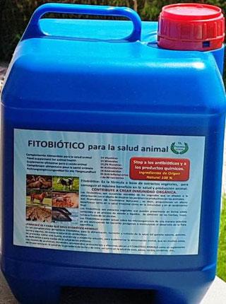 Fitobiótico para animales de granja
