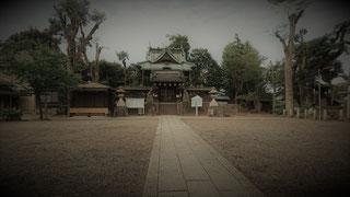 Schrein nahe dem Bujinkan Honbu Dôjô in Japan