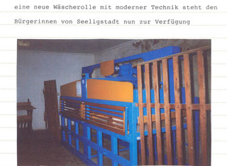 Bild: Seeligstadt Mangel Chronik 1995
