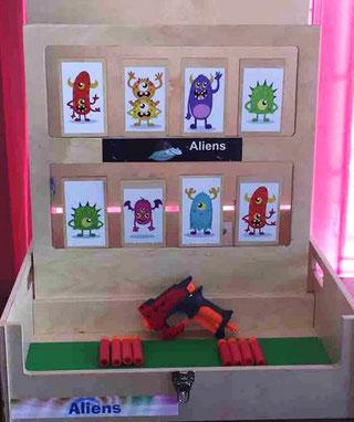 Jeux kermesses Aliens