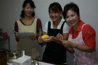マンゴープリン作り