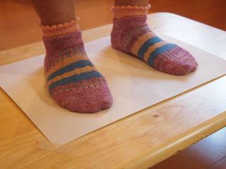 外反母趾、強剛母指の足