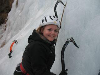 BERG-GESUND Eisklettern Abenteuer - © www.grossarltal.info