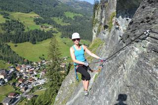 Aktivprogramm Grossarltal Klettersteig Hüttschlag Wand