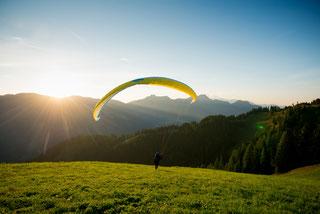 Aktivprogramm BERG-GESUND Paragliding Tandemfliegen