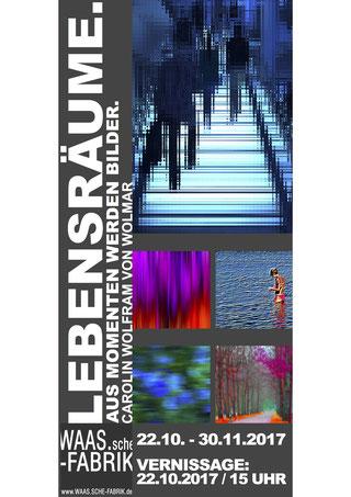 Einladung zur Ausstellung und Vernissage