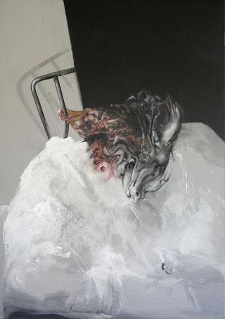 HP1 Acrylique/pastel sur toile Dim: 195cmx137cm