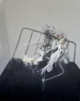 HP3 Acrylique/pastel sur toile Dim: 162cmx130cm