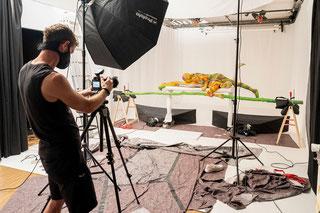 Making of Fotos: Philipp Schulz