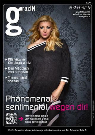 Cover grazIN #02+03/2019