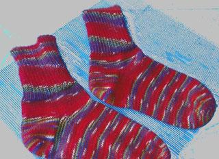 Socke 425 (Opal)