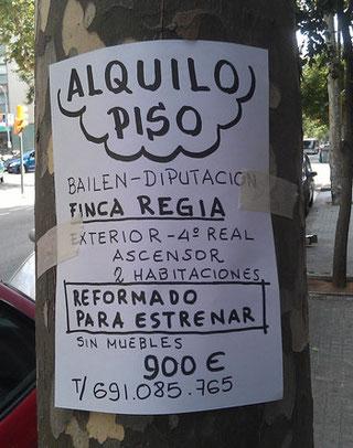 Wohnung finden in Barcelona