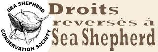 Droits reversés à Sea Shepherd