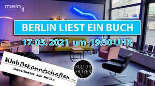 Berlin liest ein Buch Klubbekanntschaften
