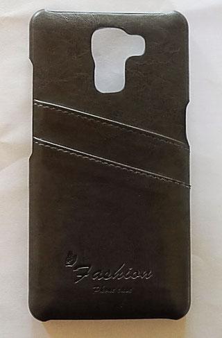 Einschubfächer auf der Rückseite der tinxi PU Kunstleder Handyhülle