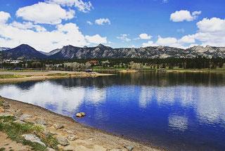 Estes Park in de Rocky Mountains