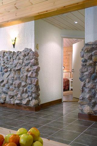 Wellness im Blockhaus-Hotel - Gewerbe im Blockhaus - Landhotel - Blockhausbau - Architektenhaus