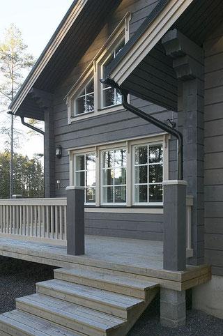 Holzhäuser in Blockbauweise - Blockhäuser bauen - Blockhausbau - Massivholzhaus - Eigenleistungen