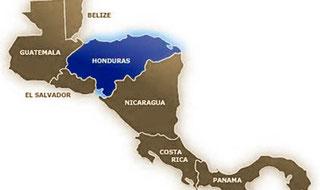 Honduras está ubicada en el corazón de Centro América