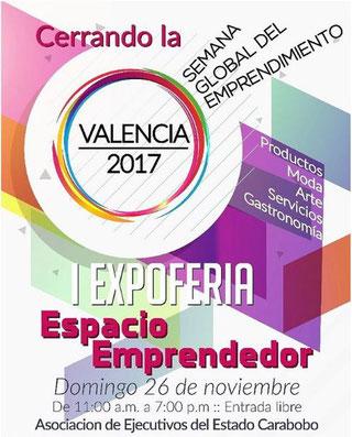 I Expo Feria Espacio Emprendedor - Valencia 2017