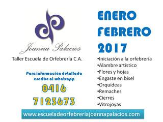 Joanna Palacios Taller Escuela de Orfebrería - Iniciación a la Orfebrería Maracaibo