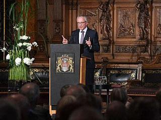 Lothar Dittmer, Vorstandsvorsitzender der Körber-Stiftung, warnte vor dem Verlust wissenschaftlicher Freiheit (Foto: David Ausserhofer)