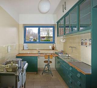 Die Frankfurter Küche im Ernst-May-Haus © Ernst-May-Gesellschaft, Reinhard Wegmann (Fotograf)