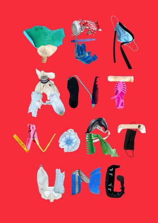 Harbourfront-Literatur-Festival Hamburg 2012 |          Collage-Artwork & Plakat-Layout