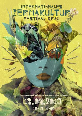 Internationale Gartenschau Graz | Veranstaltungsplakat / Collage-Artwork & Plakat-Layout