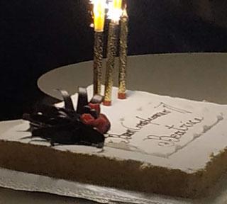 torta di compleanno millefoglie