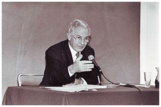 Jacques Dupâquier (photo archives de la ville de Pontoise)