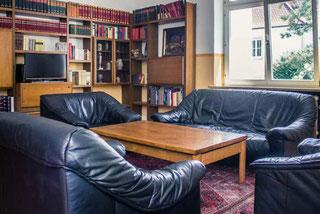 Das Lesezimmer ...