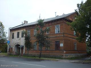 Дом на Чкалова 56 в Гатчине