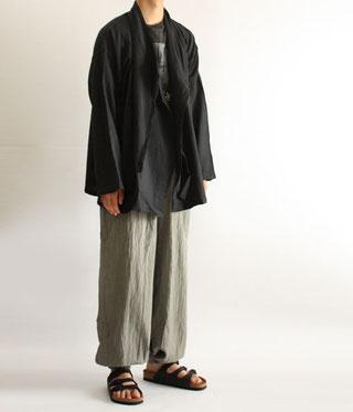 ヂェン先生の日常着 カサネバオリ バルーンパンツスリム メンズ