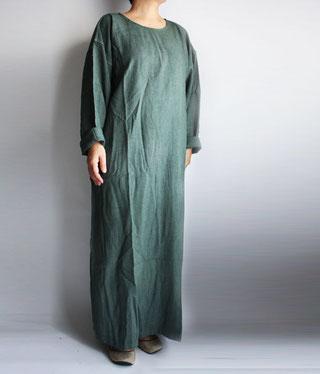 ヂェン先生の日常着 長袖wナンピース