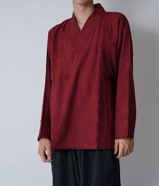 ヂェン先生の日常着 プルオーバー