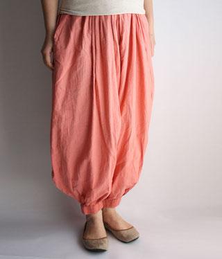 ヂェン先生の日常着 バルーンパンツ ピンク