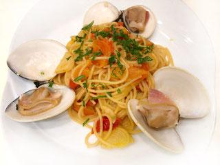 Spaghetti ai HAMAGURI ハマグリのスパゲッティ