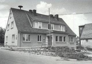 Bild: Wünschendorf Erzgebirge Rathaus 1970