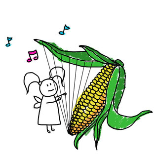 Beatrice Winkel - Trixilie's corn-harp