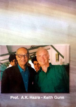 Keith Gunn and Amiya Kumar Hazra