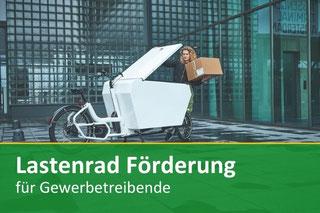 Lastenradförderung Wien