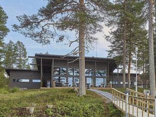 Hausbau - Ökologisch Bauen - Tagungshotel im Blockhaus - Massivholzhaus
