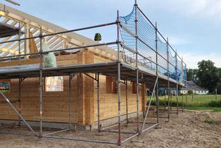 Freigeplantes Holzhaus in massiver Blockbauweise - Allergiker freundlich - ökologisch