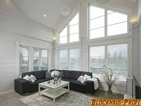 Holzhaus in Perfektion - © Blockhaus-Profi