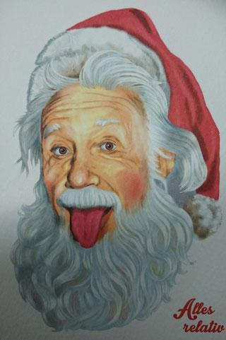 Er, der Nikolaus, hat schon immer behauptet, zwar sei null mal null eine gerade Fünf, aber dennoch sei alles relativ.