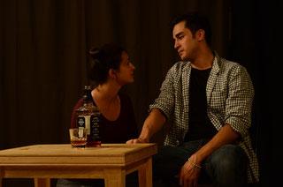Gabby Sherba and Jamie Parton in DRUNKEN ANGEL